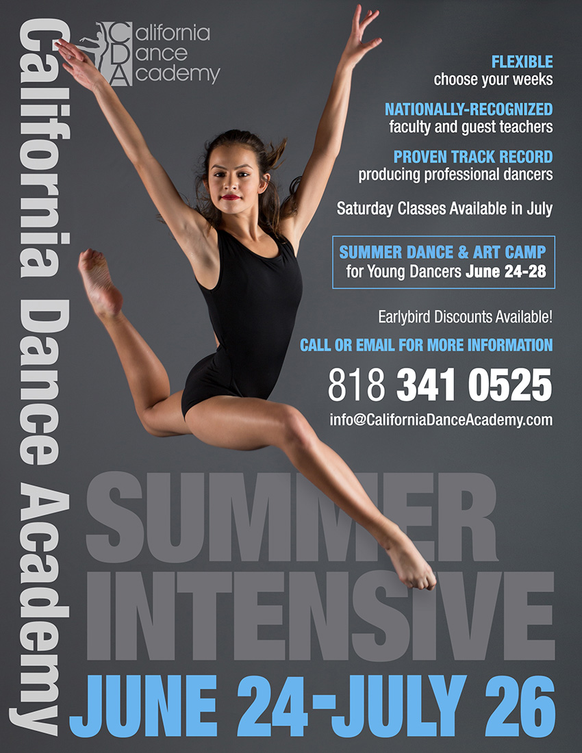Summer Intensive Program - California Dance Academy
